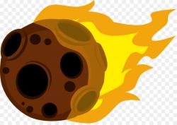 Meteoroid Meteorite Meteor shower Asteroid Clip art - fireball png ...