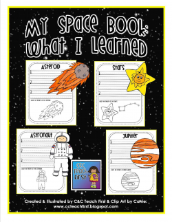 My Space Book: includes facts sheets for: Mercury, Venus, Earth ...