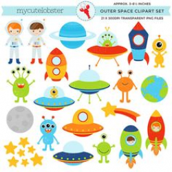 400 Free Awesome Clip Art Graphics | Astronauts, Spaceship and Clip art