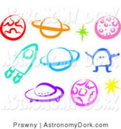 Royalty Free Alien Stock Astronomy Designs