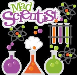 Mad Scientist SVG science svg beaker svg test tubes svg file atom ...