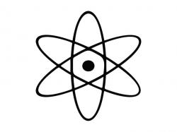 Atom Svg Vector File, Atom Cutting File, Atom Cut File, Atom Png Digital  File, Atom Dxf File, Atom Clip Art Svg, Atom Svg Design