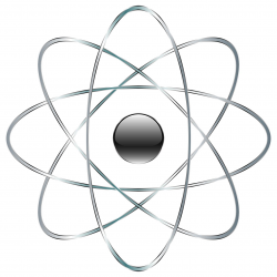 Atom No Background Clipart - Design Droide