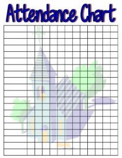 Sunday School Attendance Charts | Children's Ministry Ideas ...