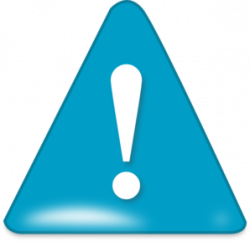 Attention In Blue Clip Art at Clker.com - vector clip art online ...