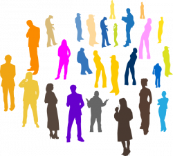 4 People Silhouette at GetDrawings.com | Free for personal use 4 ...