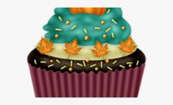 Squash Clipart Birthday Cake - November Cupcake Clipart ...