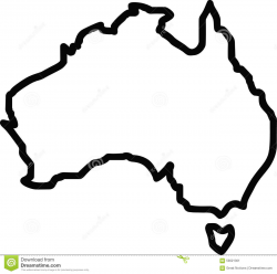 28+ Collection of Australia Outline Clipart   High quality, free ...