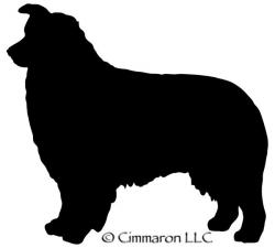 Australian Shepherd Silhouette Decal | Australian Shepherd ...