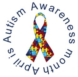 Autism Awareness Month Clipart
