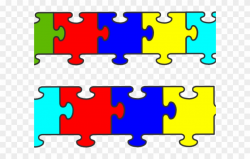 Pice Clipart Autism Puzzle - Jigsaw Puzzle - Png Download ...