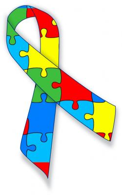 Autism awareness ribbon - /medical/medical_problems/various ...
