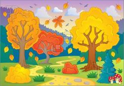 Autumn Fall Scenes Clipart