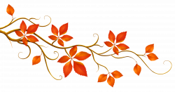 Decorative Branch with Autumn Leaves PNG Clipart | Gallery ...