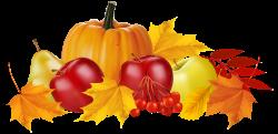 Autumn Pumpkin and Fruits PNG Clipart Image | ClipArt | Pinterest ...