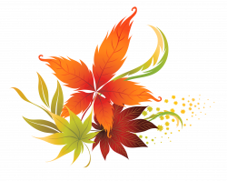 Fall Leaves Decor PNG Clipart Picture | Gallery Yopriceville - High ...