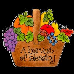 Harvest Blessings   Clip Art-Colored 2   Pinterest   Clip art ...