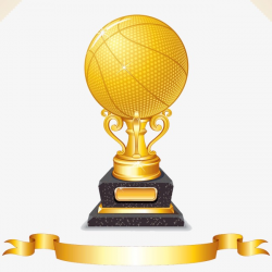 Basketball Trophy, Cup, Gold Cup, Gold PNG Image and Clipart for ...