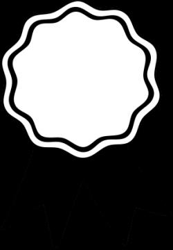 Award Ribbon Clipart Black And White | Clipart Panda - Free Clipart ...