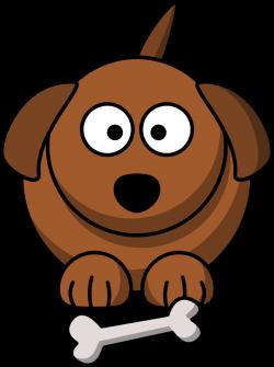 Cute Cartoon Dog graphic - more free clip art at @OnlineLabels.com ...