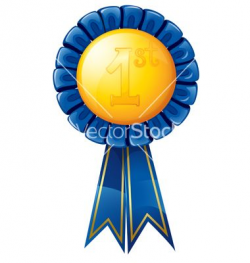1st Place Trophy Clip Art | First place award ribbon vector | Ice ...
