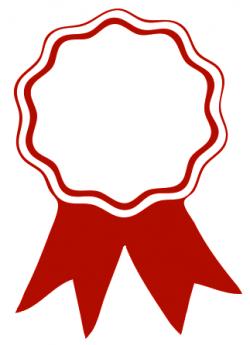 award ribbon red   Clip Art (School)   Pinterest   Clip art school ...