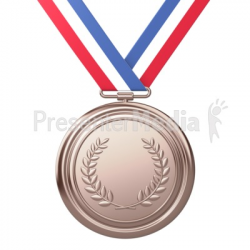 Bronze Medal Award Third Place - Sports and Recreation - Great ...