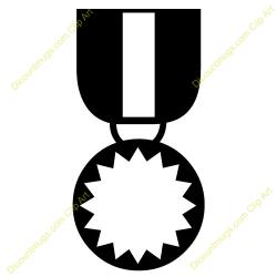 Award Medals Clipart