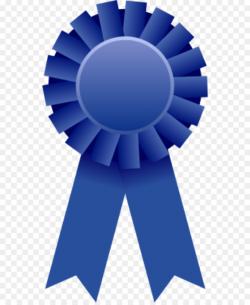 Ribbon Award Prize Clip art - Blue Ribbon Clipart png download - 600 ...