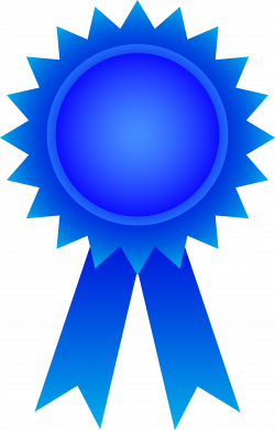 Blue Ribbon Award Clipart