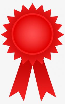 Red Clipart Award - Award Symbol Clip Art Transparent PNG ...