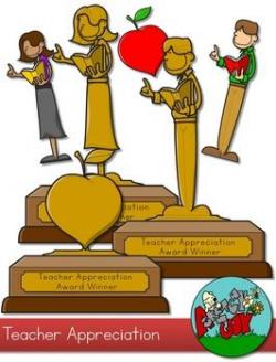 Teacher Appreciation Award Clip art --- FREE downlaod | Borders ...