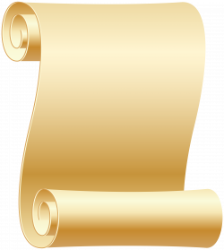 Empty Scroll Transparent PNG Clip Art Image | Gallery Yopriceville ...