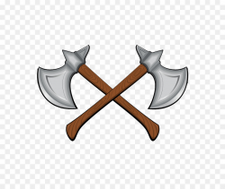 Battle axe Dane axe Clip art - Cartoon double ax png download - 748 ...