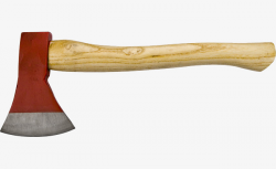 Red Fire Axe, Fire Axe, Fire, Product Object PNG Image and Clipart ...