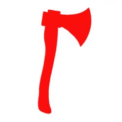 Red Axe Clip Art at Clker.com - vector clip art online, royalty free ...
