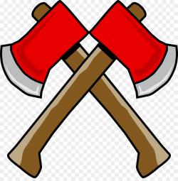 Axe Hatchet Clip art - Cross-ax png download - 1271*1280 - Free ...