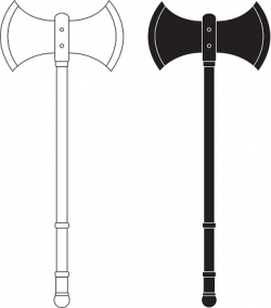 Executioner's axe clipart - Clipground