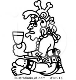 Aztec Clipart #13914 - Illustration by AtStockIllustration