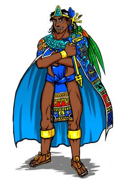 Tlatoani (Aztec emperor) by nosuku-k on DeviantArt