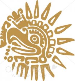 Aztec Bird Clipart | Summer Wedding Clipart