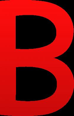Letter B Clip Art - Sweet Clip Art