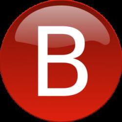 Red B Clip Art at Clker.com - vector clip art online, royalty free ...