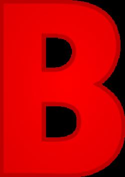 Letter B Clip Art at Clker.com - vector clip art online, royalty ...