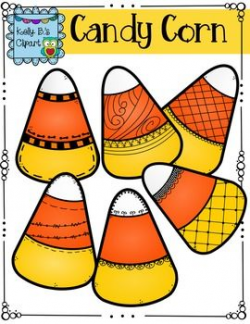 Candy Corn Clipart by Kelly B | Candy corn, Classroom clipart and School