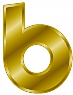 Free gold-letter-b- Clipart - Free Clipart Graphics, Images and ...