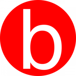 Red, Rounded, With B Clip Art at Clker.com - vector clip art online ...