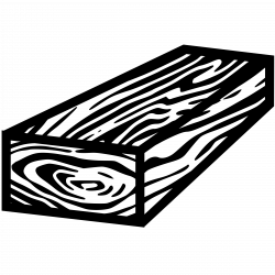 Clipart - Wood Block