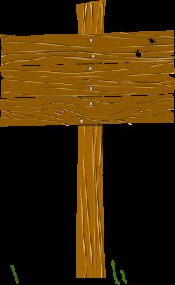 Wood Sign Clip Art at Clker.com - vector clip art online, royalty ...