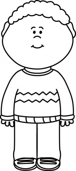 Child Clip Art Black And White | Clipart Panda - Free Clipart Images